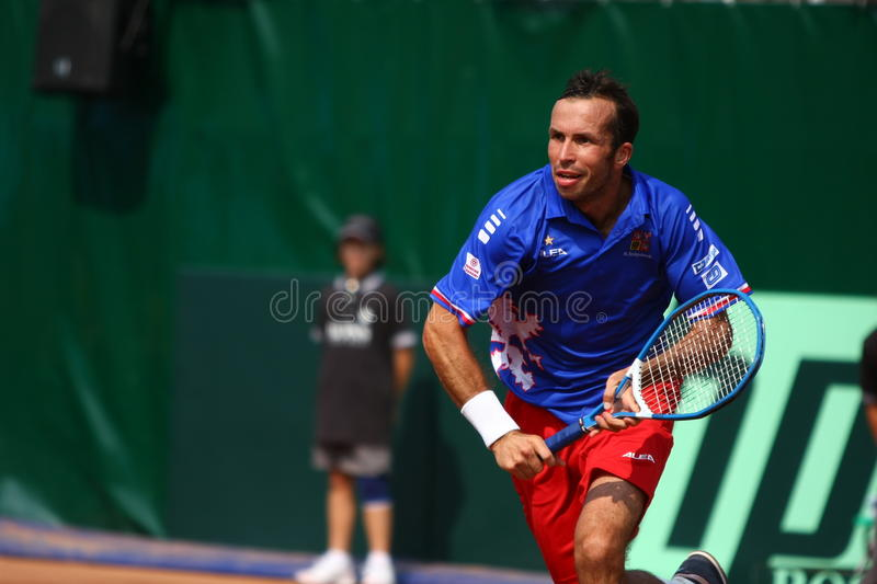 Romania-Czech Republic, Davis Cup 2011 royalty free stock photos