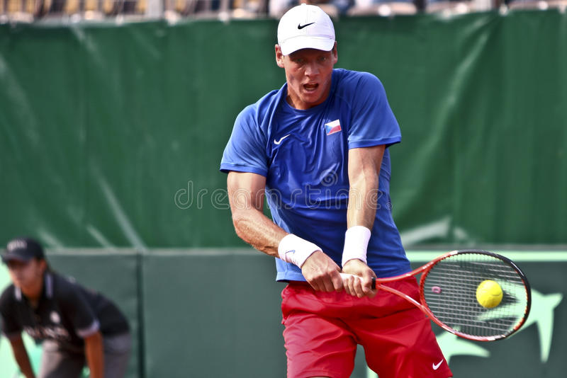 Romania-Czech Republic, Davis Cup 2011 royalty free stock photography