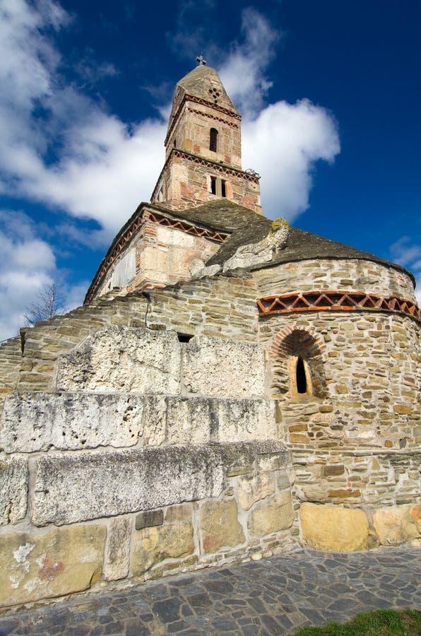Romania - Densus Church royalty free stock photos