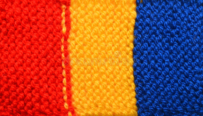 Romania flag stock photography