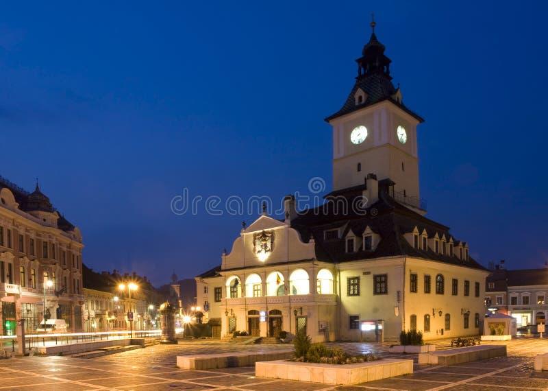 Romania Old City From Transylvania Royalty Free Stock Photos