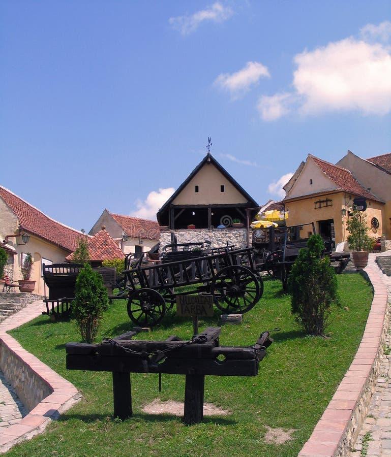 Romania. Risnov imagem de stock royalty free