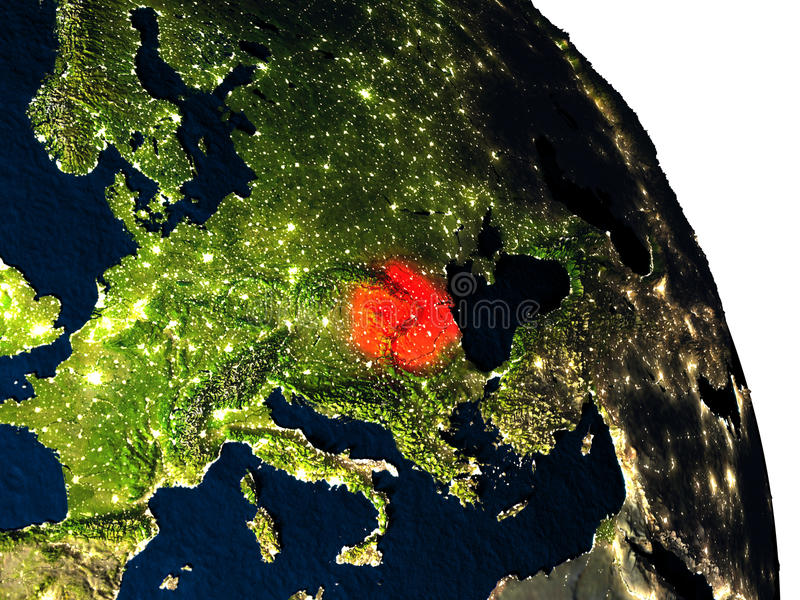 Romania From Space