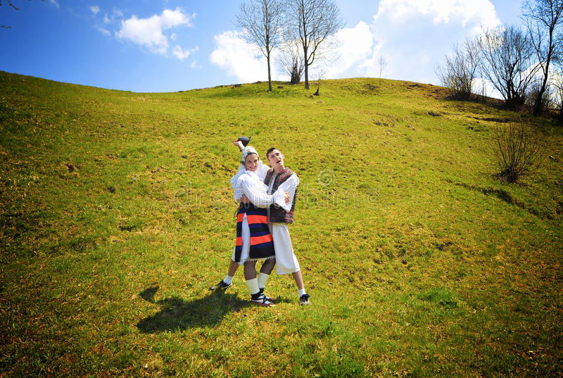 Download Romania traditional people stock photo. Image of country - 20546850