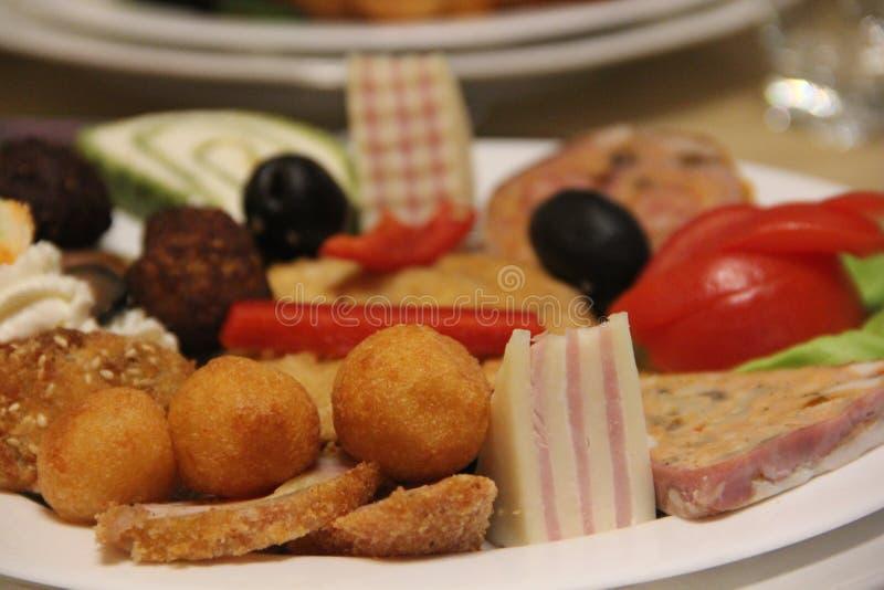 Romanian appetizer stock image