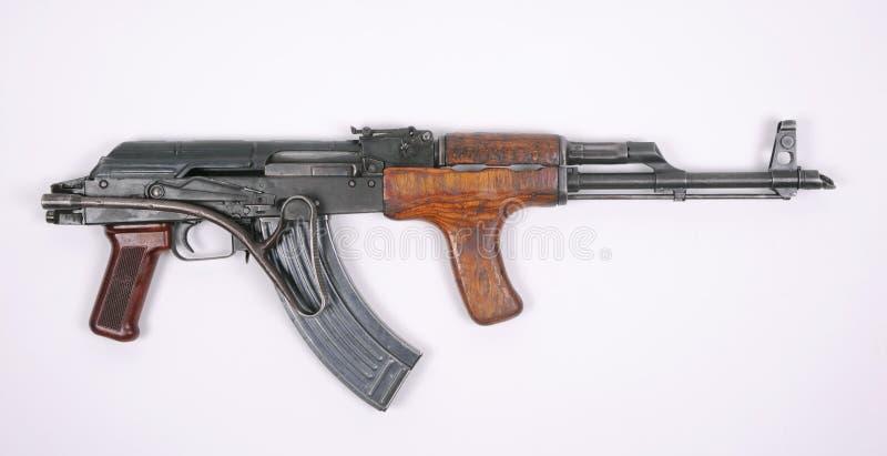 Romanian assault rifle (AK47) royalty free stock image