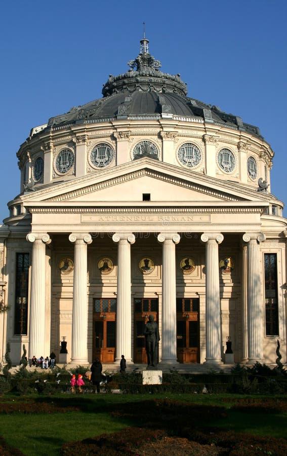 Download The Romanian Athenaeum stock photo. Image of romania, column - 2248406
