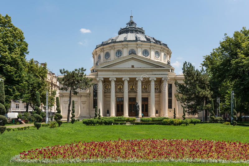 Download The Romanian Athenaeum editorial photography. Image of athenaeum - 41892117