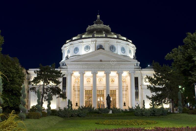 Download Romanian Atheneum stock photo. Image of columns, hall - 15583078