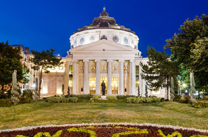 Download Romanian Atheneum, Bucharest Stock Photo - Image: 25634422