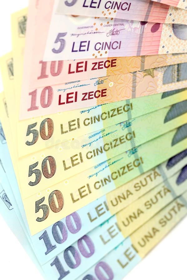 Download Romanian banknotes stock image. Image of background, exchange - 23653637