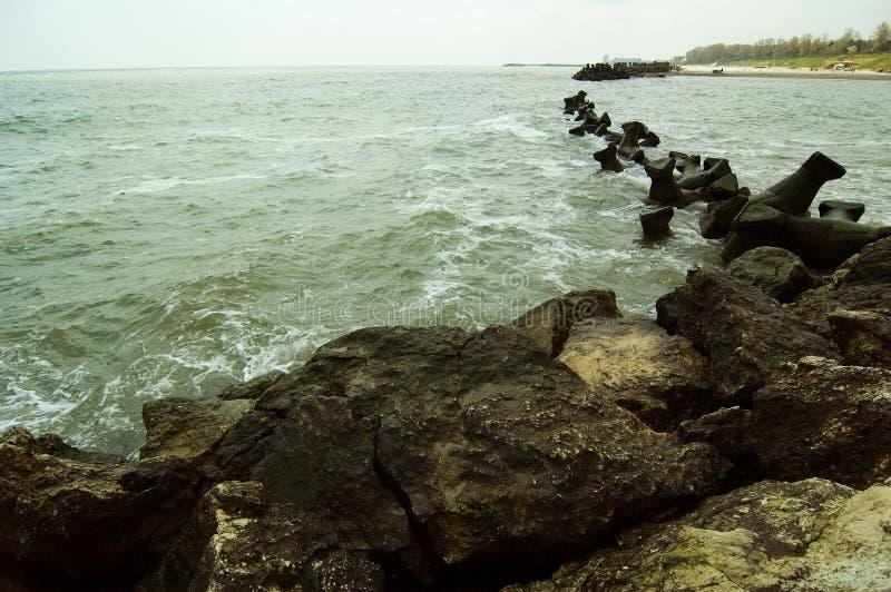 Romanian Black Sea stock photography