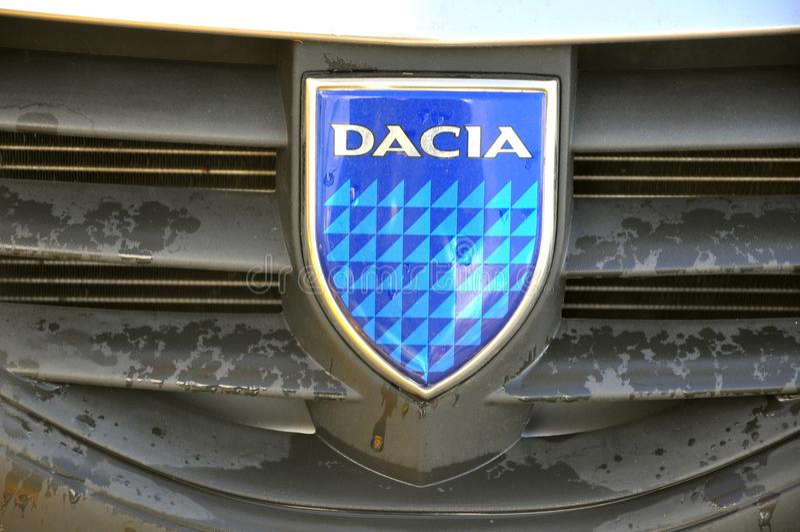 Download Romanian car Dacia logo editorial photography. Image of eastern - 17265267