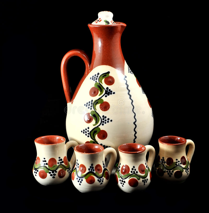 Download Romanian ceramic handmade stock image. Image of antique - 29179355