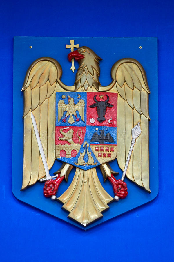 Download Romanian Coat Of Arms Stock Photo - Image: 21520480