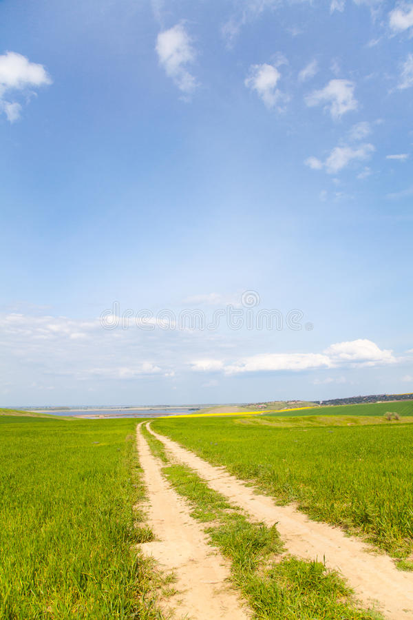 Download Romanian countryside road stock photo. Image of europe - 14591608