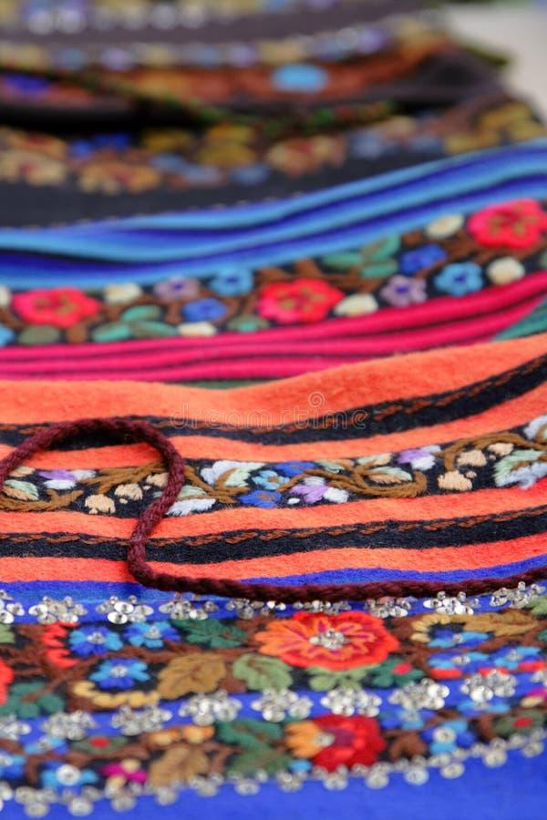 Romanian crafts royalty free stock photo