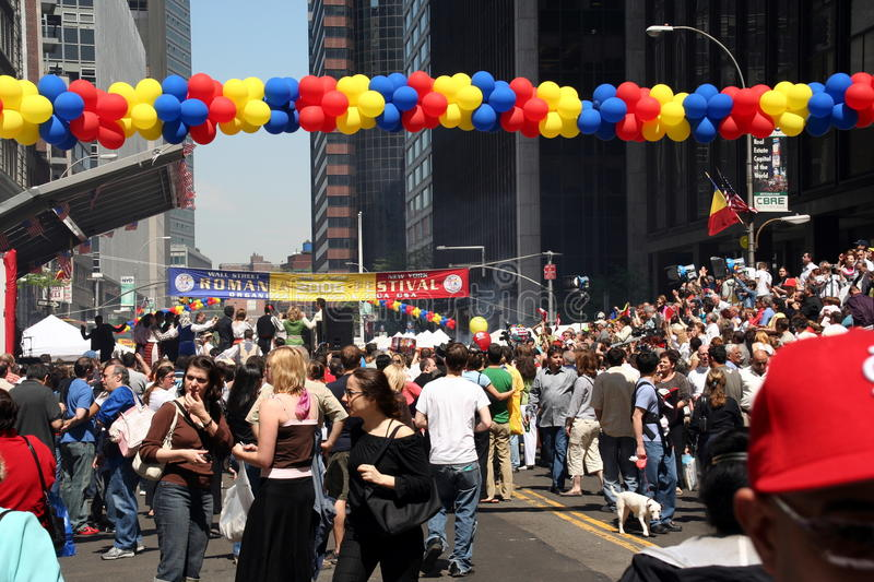 Download Romanian Day In New York Editorial Image - Image: 12387155