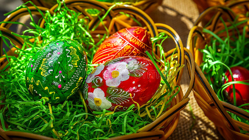 Romanian Easter Tradition royalty free stock photo