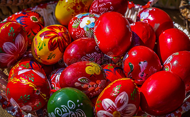 Romanian Easter Tradition royalty free stock photography