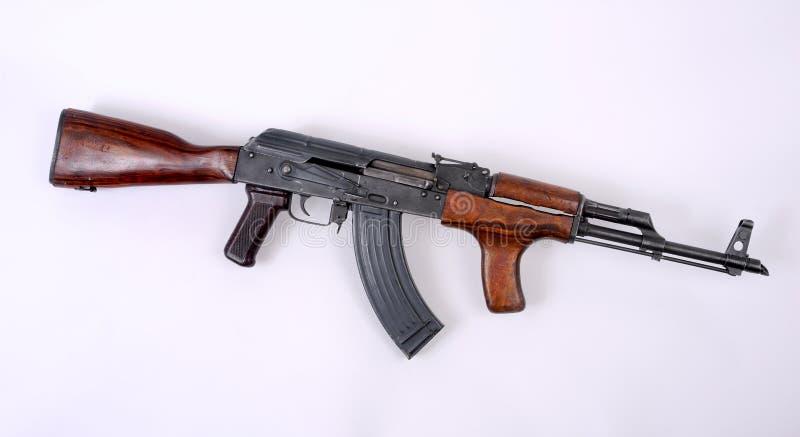 romanian för gevär för ak47 anfall pm63 arkivfoton