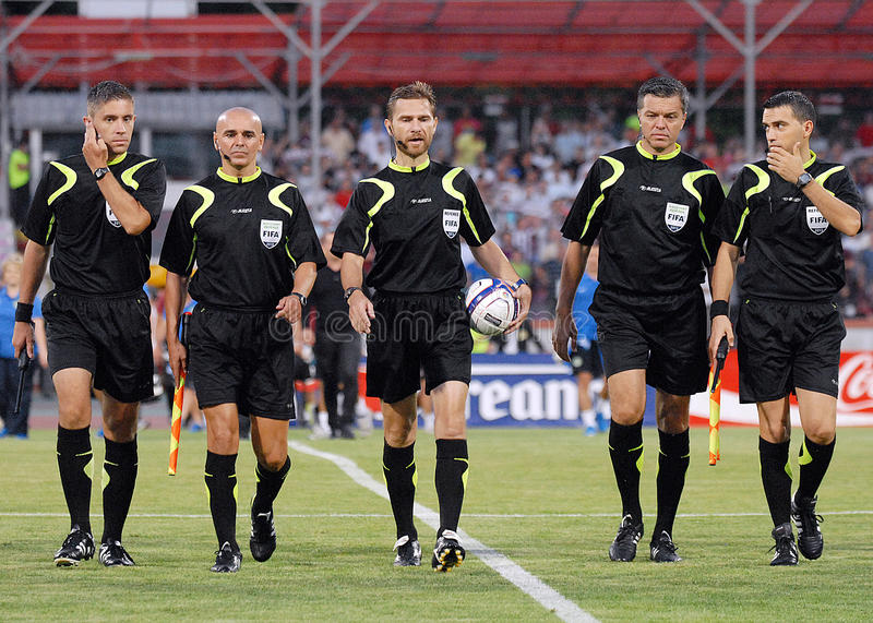 Download Romanian FIFA Referees editorial stock photo. Image of play - 32259583