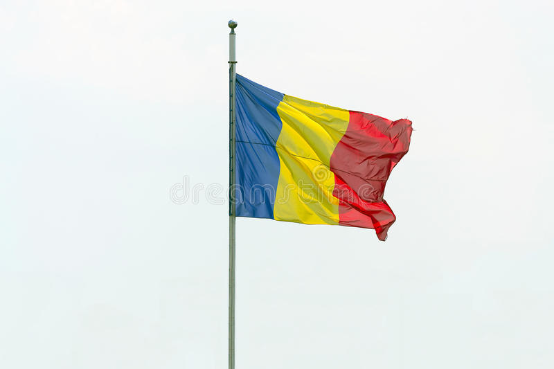 Download Romanian flag stock photo. Image of ethnic, wave, emblem - 32260978
