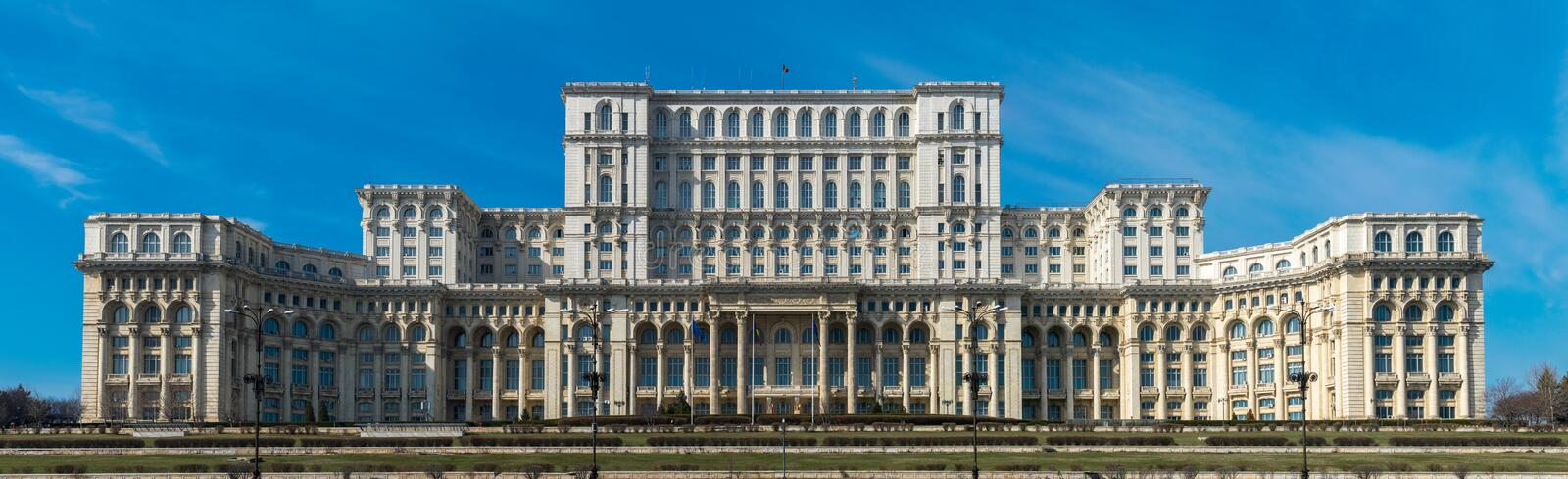 Romanian House of Parliament royalty free stock image