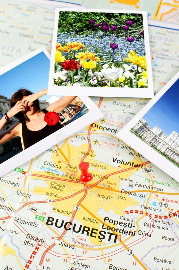 Download Romanian map - Bucharest stock photo. Image of romania - 20921560
