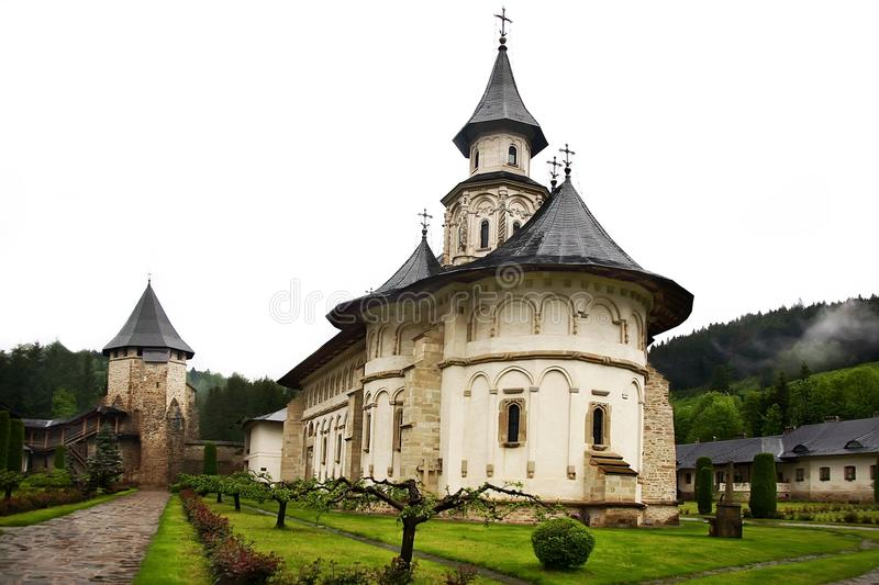 Download Romanian monastery stock photo. Image of attraction, historical - 24829988