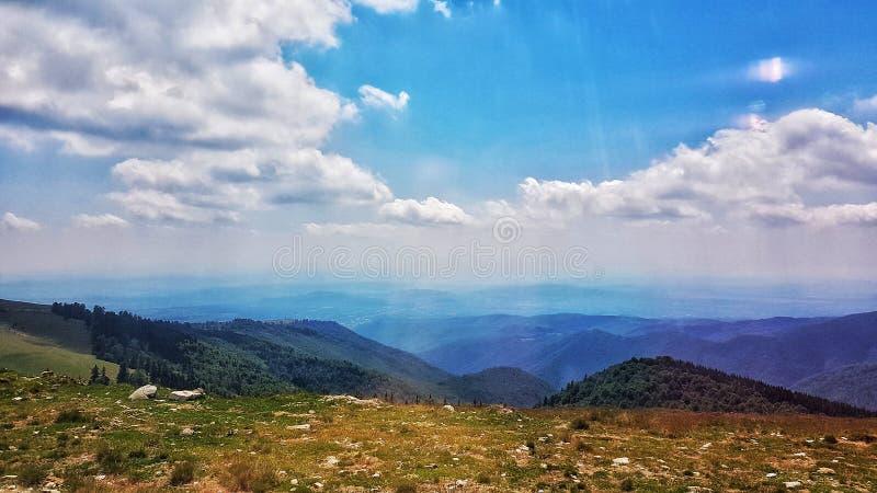 Romanian Mountins foto de stock royalty free