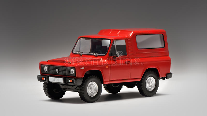 Romanian off-road vehicle ARO royalty free stock photography
