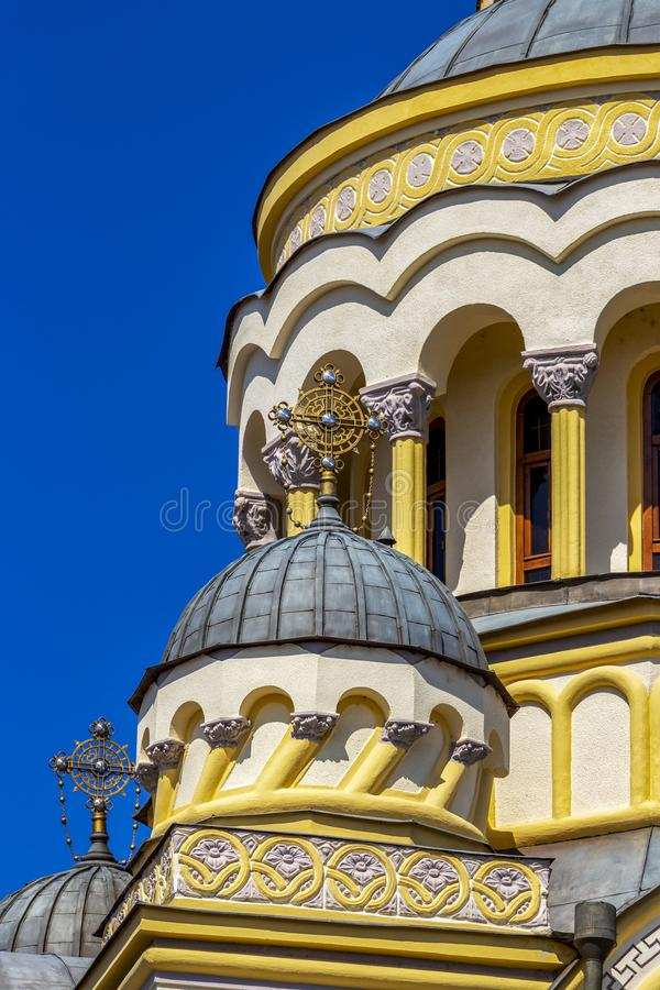 Free Romanian Orthodox Cathedral Dome Stock Image - 153407031