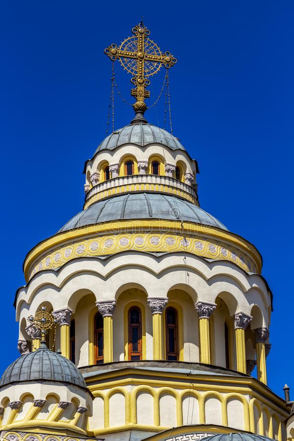Free Romanian Orthodox Cathedral Dome Stock Photo - 153595000