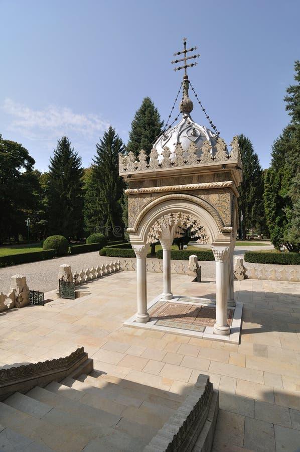 Romanian Orthodox Monastery royalty free stock image