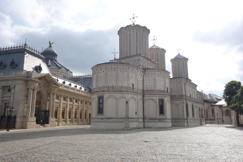 The Romanian Orthodox Patriarchal Cathedral stock photo