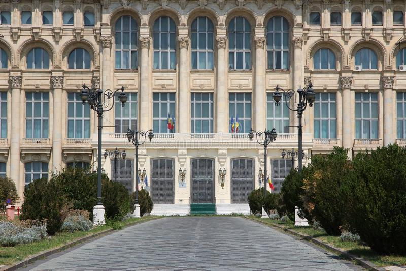 Download Romanian parliament stock photo. Image of landmark, tourism - 28503452