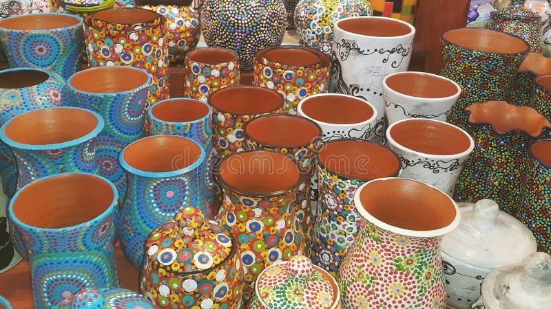 Romanian pottery royalty free stock photo