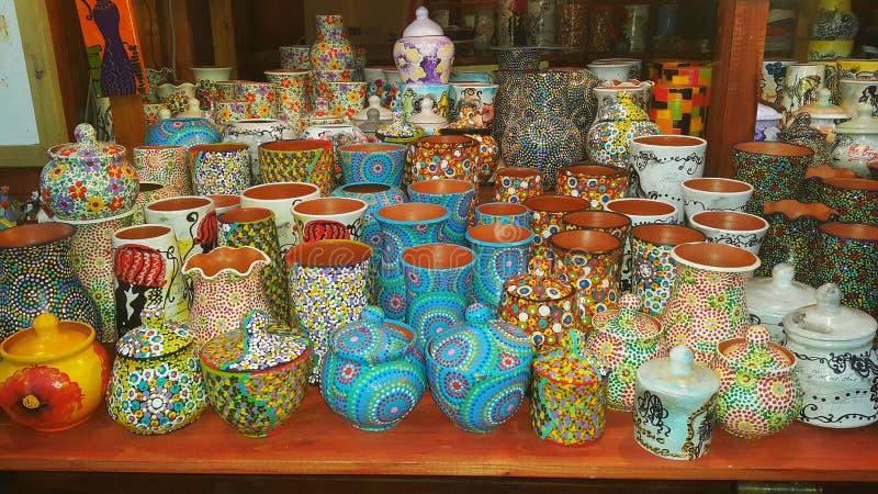Romanian pottery stock photos