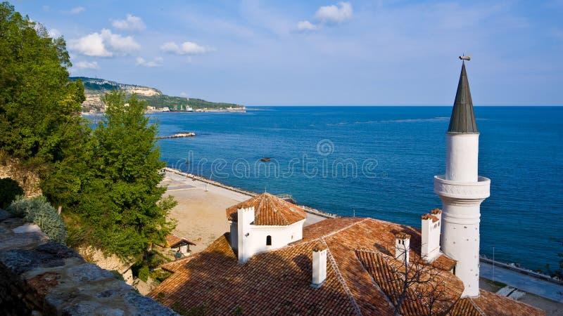 Romanian Queen Castle. Bulgaria. royalty free stock photos