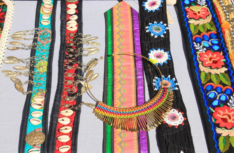 Romanian Traditional Accessories For Women Stock Photo Image Of