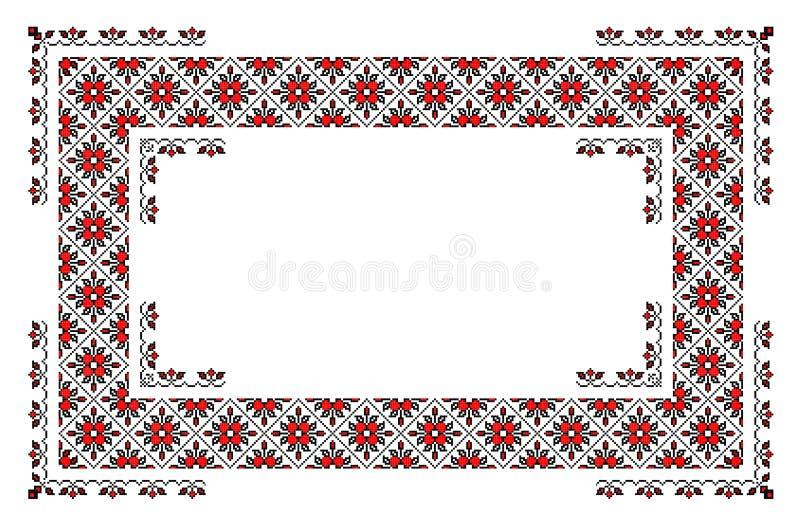 Download Romanian Traditional Carpet Stock Illustration - Illustration of domestic, motif: 22480882