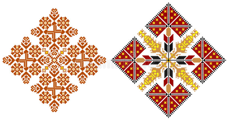 Download Romanian Traditional Carpet Themes Stock Illustration - Image: 22476515