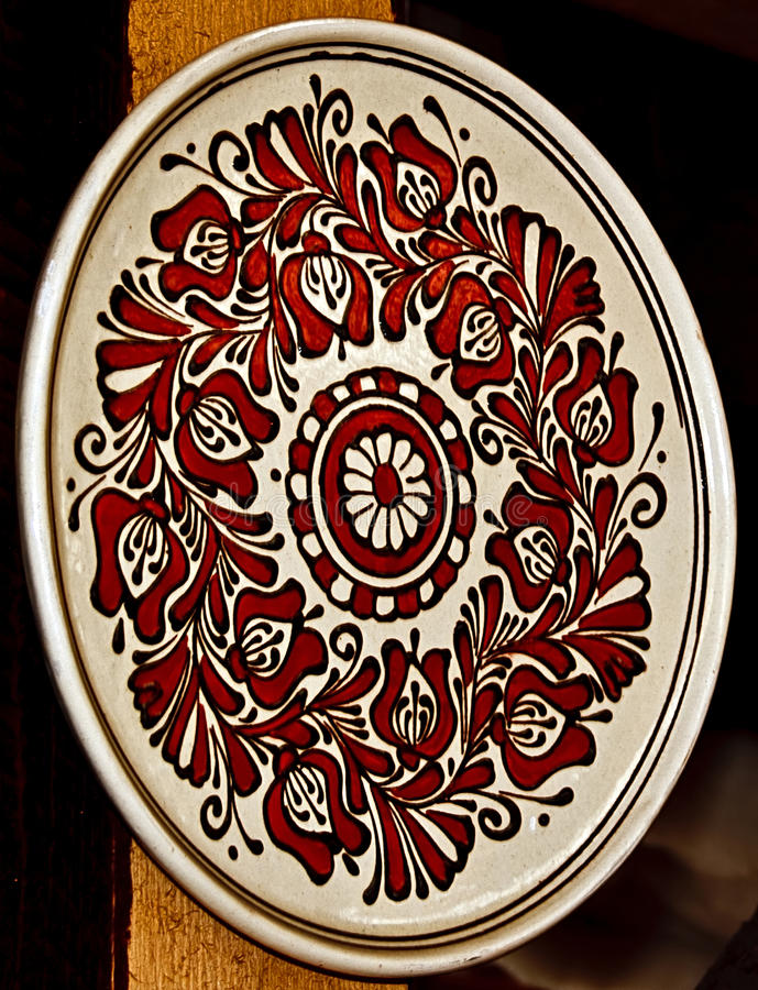 Free Romanian Traditional Ceramics 19 Royalty Free Stock Image - 39516976