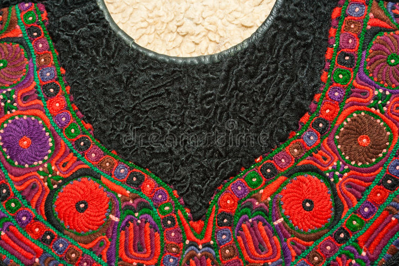 Download Romanian Traditional Hand Crafted Outfit Detail Stock Image - Image: 24583311