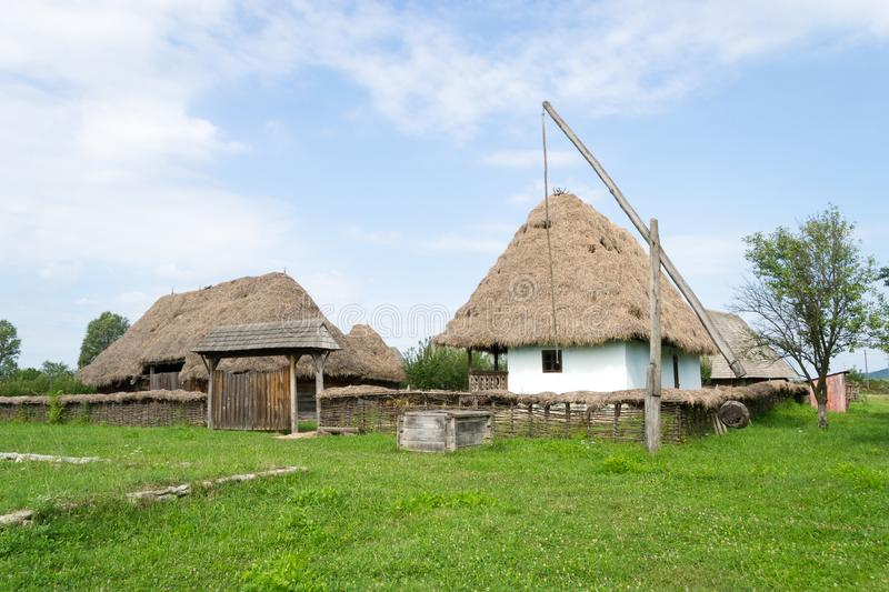 Romanian traditional house royalty free stock photography