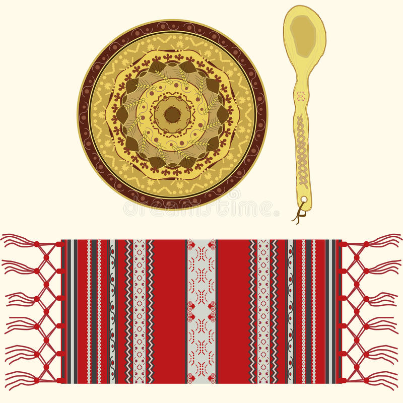 Free Romanian Traditional Objects Royalty Free Stock Photography - 25240327