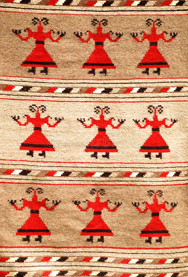 Download Romanian traditional rug stock image. Image of design - 19611233
