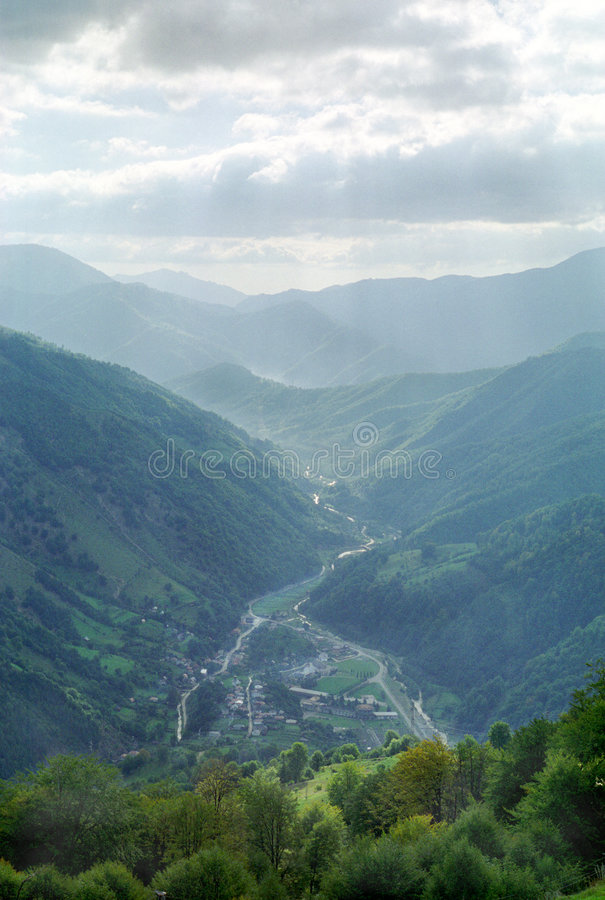 Romanian Valley stock images