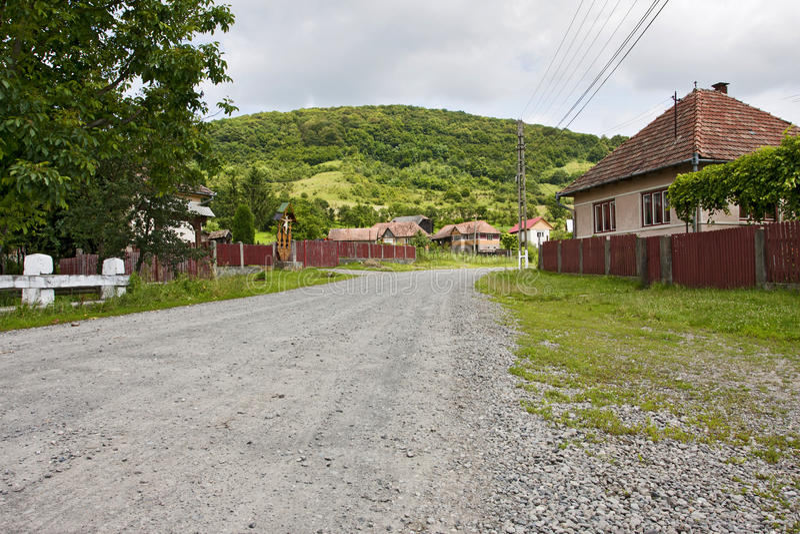 Download Romanian village road stock image. Image of road, rural - 19327837